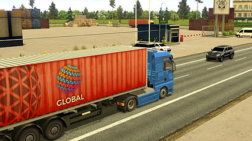 Simulation Truck simulator 2018: Europe für das Smartphone