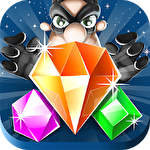 Jewel blast: Thief quest. Diamond blast: Game three in a row icono