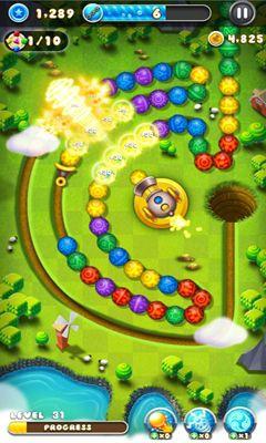 Arcade Marble Blast Saga für das Smartphone