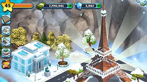 Strategie Snow town: Ice village world für das Smartphone