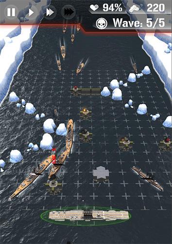 Dawn uprising: Battle ship defense Screenshot
