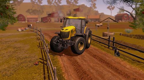 de simulateur Farmer sim 2018 pour smartphone