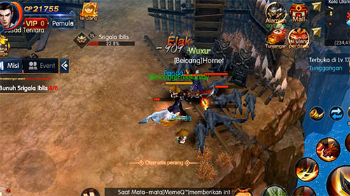 Rise of dragons für Android