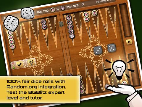 Screenshot Backgammon Gold Premium auf dem iPhone
