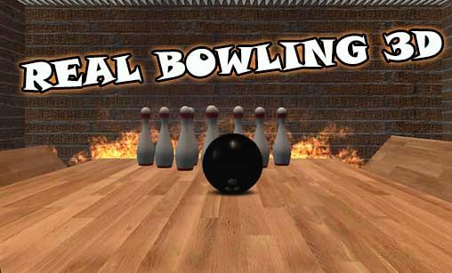 Real bowling 3D captura de pantalla 1