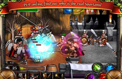 Бійки: завантажити Спартанці проти Зомбі на телефон