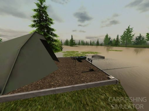 Arcade games Carp fishing simulator for smartphone