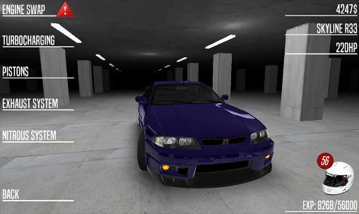 Japan drag racing screenshots