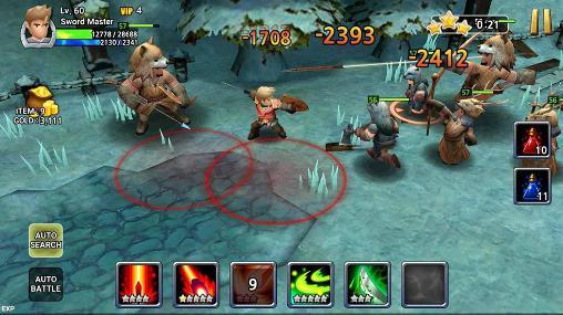 RPG Sword storm für das Smartphone