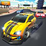 Drive and drift: Gymkhana car racing simulator game Symbol