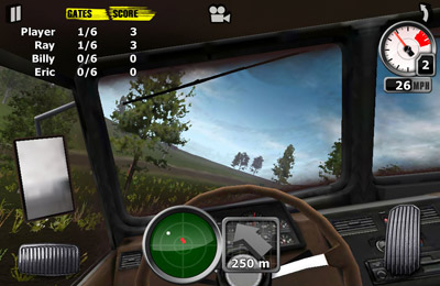 Screenshot Truck Trial auf dem iPhone