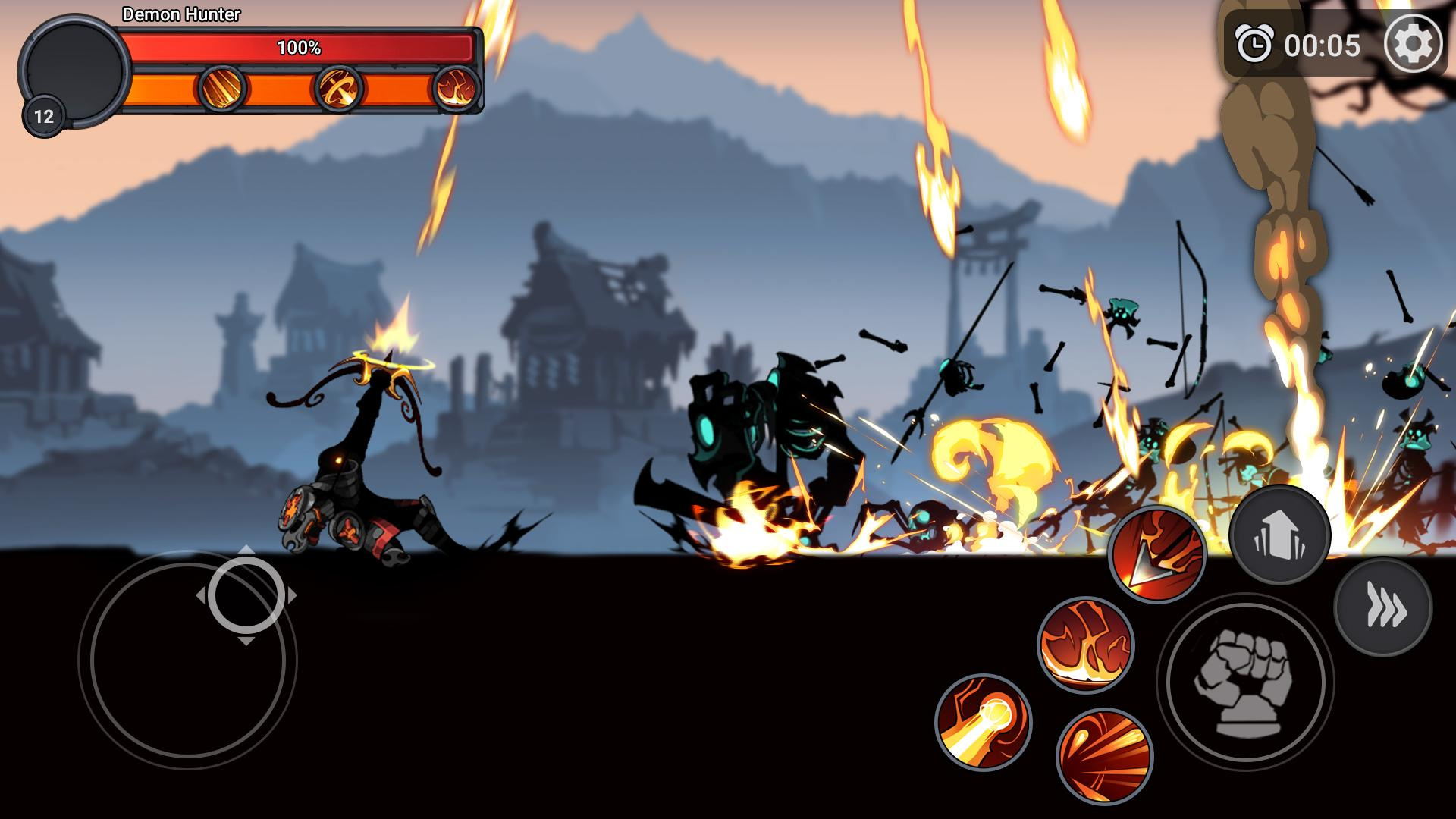 Stickman Master: League Of Shadow - Ninja Fight screenshot 3