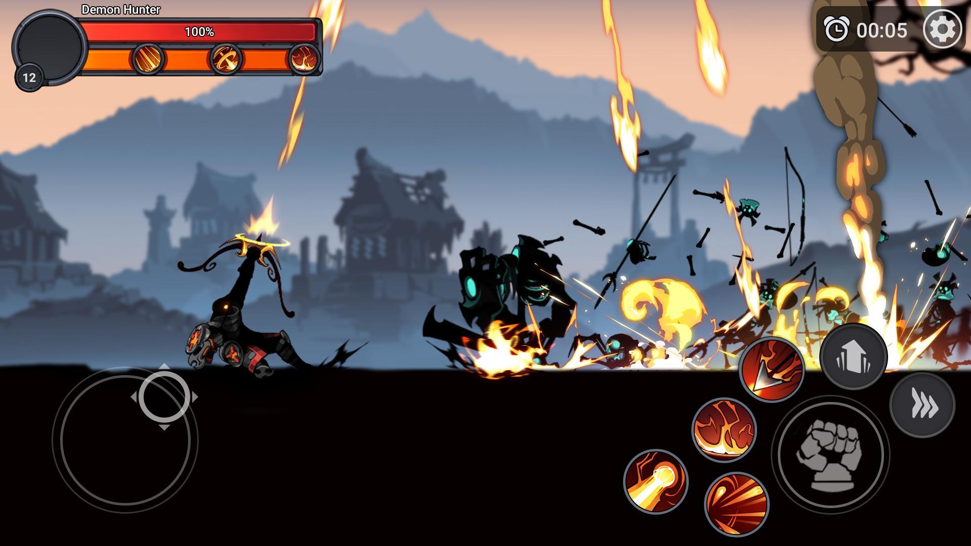 Stickman Master: League Of Shadow - Ninja Fight для Android