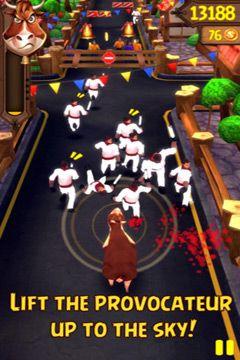 Screenshot Angry Bulls 2 on iPhone