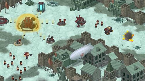 War alert: Red lords. Online RTS screenshot 1