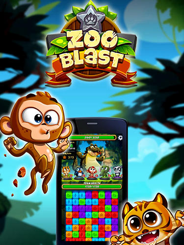 Zoo blast captura de tela 1