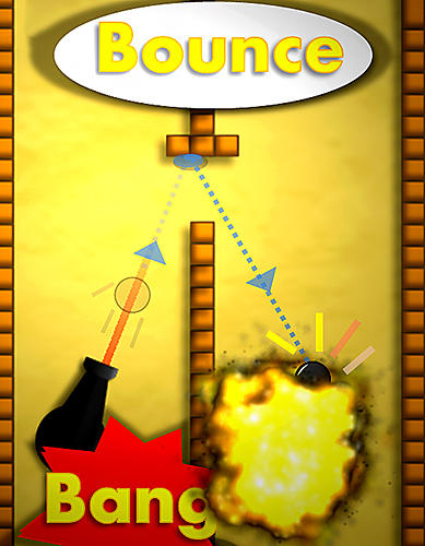 Bounce n bang physics puzzle challenge: Fireball! Screenshot
