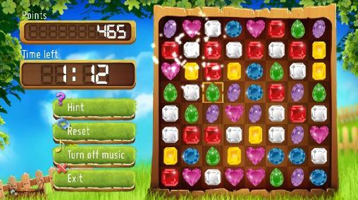 Jewels match 3 für Android