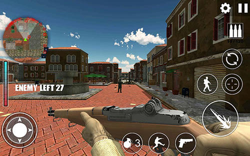 World war 2: WW2 secret agent FPS pour Android