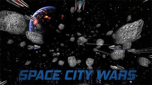 logo Guerrero de la ciudad espacial