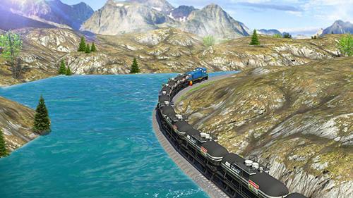 Fahrsimulatoren Oil tanker train simulator auf Deutsch