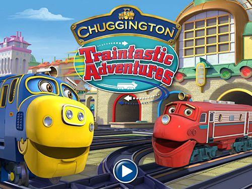 логотип Чаггингтон: Приключения фантастических паровозиков