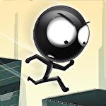 Stickman: Roof runner Symbol