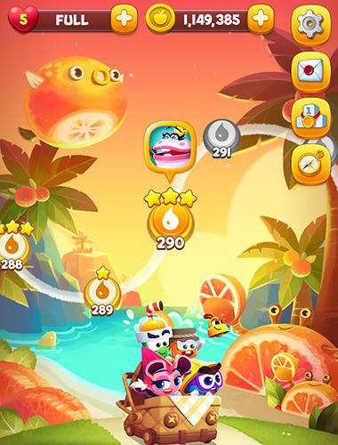 Arcade Juicy world for smartphone