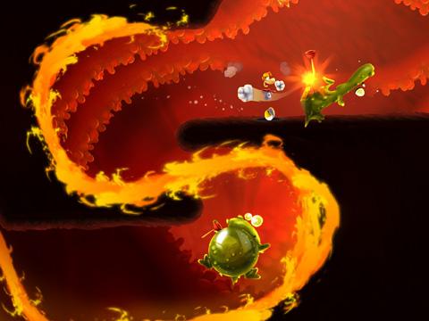Rayman beim Fest für iPhone
