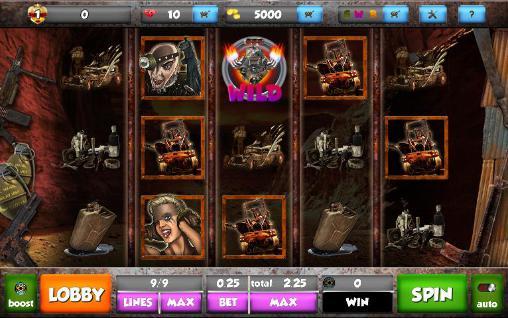 Glücksspiele Mad future: Slots für das Smartphone