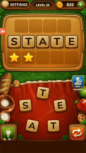Logikspiele Szo piknik: Word snack für das Smartphone
