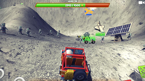 Zombie offroad safari screenshot 4