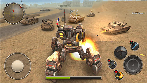 Mech legion: Age of robots para Android