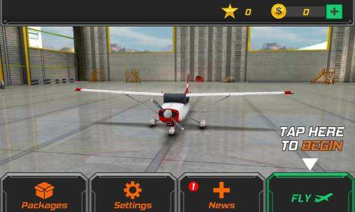 Simulation Flight pilot: Simulator 3D für das Smartphone