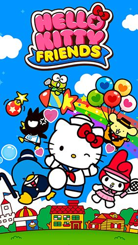 logo Hello Kitty: Amis