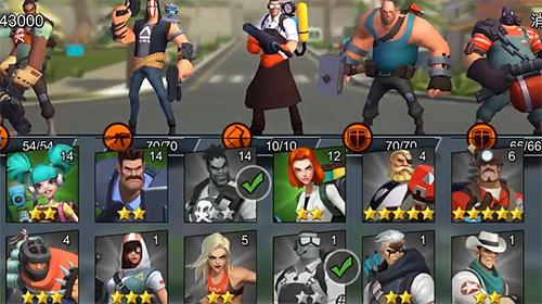Onlinespiele Hero Z: Doomsday warrior für das Smartphone