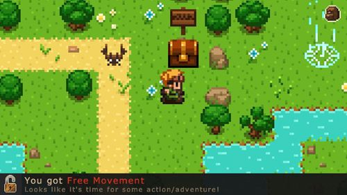 Arcade games: download Evoland to your phone