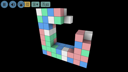 Jogos de arcade: faça o download de Mar de quadrados para o seu telefone