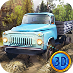 Russian trucks offroad 3D icono