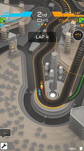 Hyperdrome: Tactical battle racing Screenshot