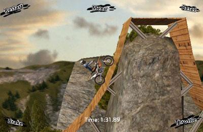 Screenshot Motorrad Tricks Extreme auf dem iPhone