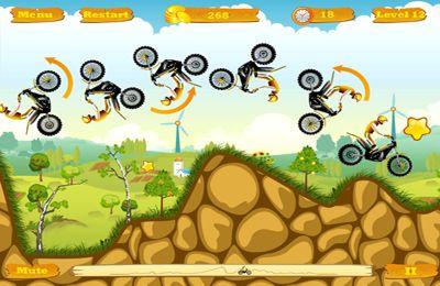 iPhone用ゲーム プロモトレース のスクリーンショット
