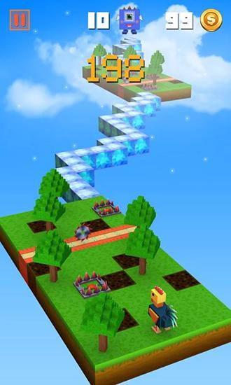 Arcade games Zigzag crossing for smartphone