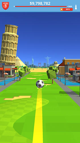 Sports games Soccer kick for smartphone