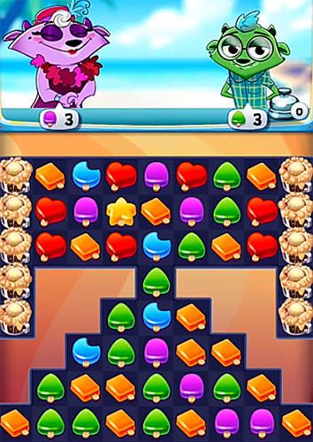 Tropical treats: Ice cream blast. Free match 3 für Android