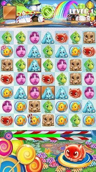 Candy pets скриншот 1