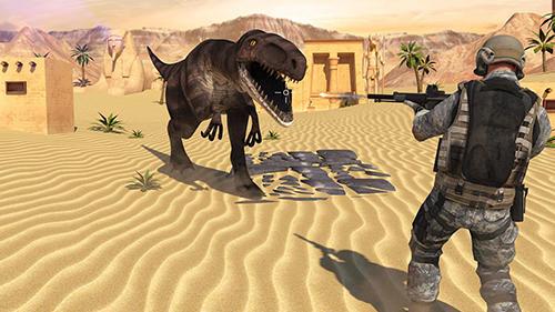 Dinosaur shooter 3Dcapturas de pantalla