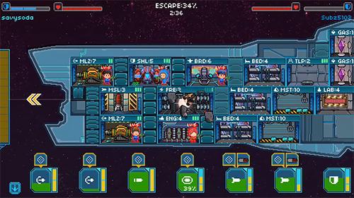 Onlinespiele Pixel starships für das Smartphone