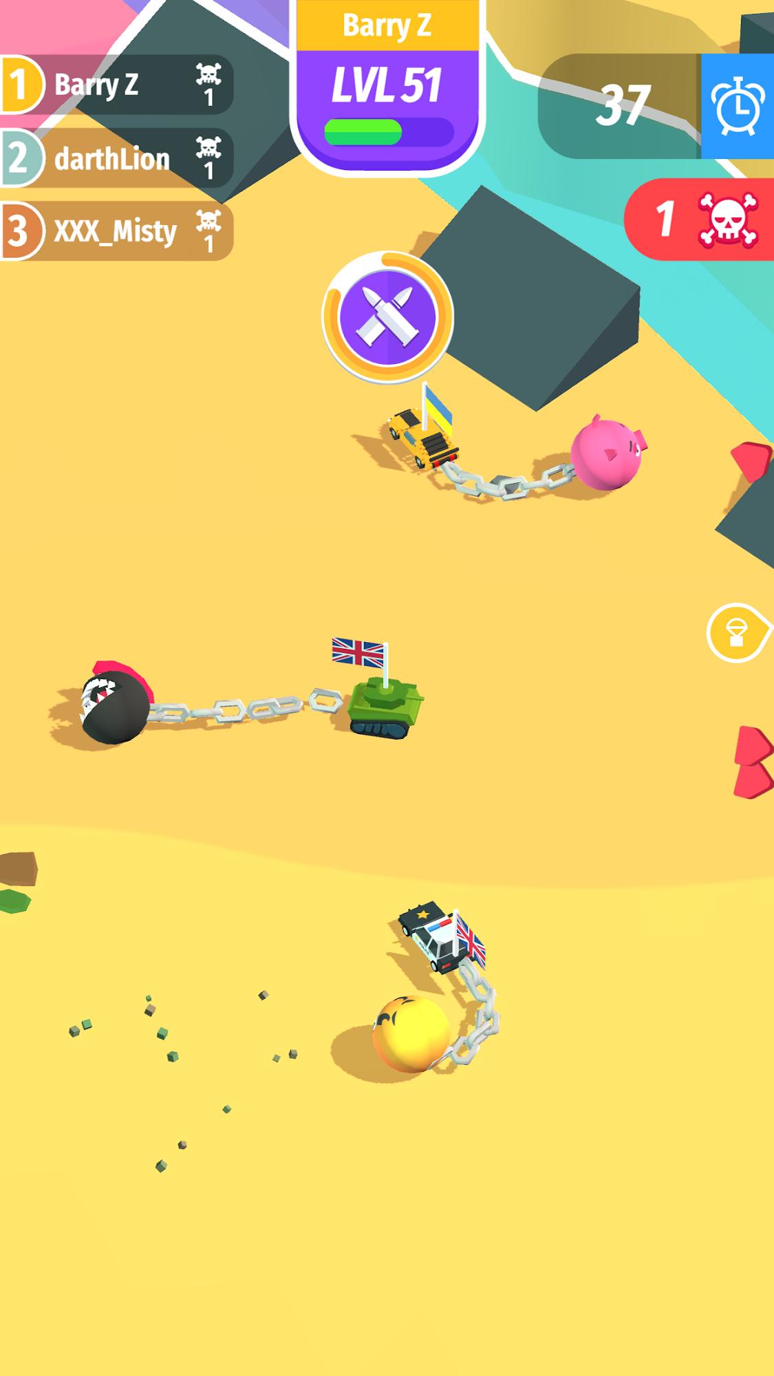 Crash Drivers Screenshot-Spiel