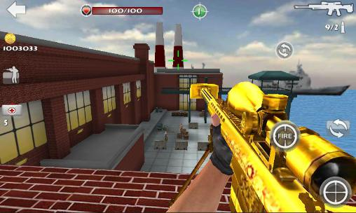 Sniper shoot strike 3D capture d'écran 1